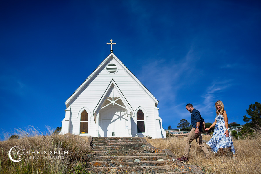 San_Francisco_wedding_photographer_Engagement_session_Tiburon_Old_Saint_Hilary_church_Horseshoe_Bay_02