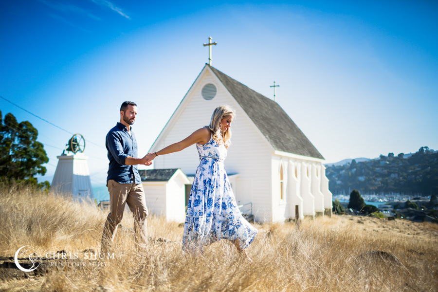 San_Francisco_wedding_photographer_Engagement_session_Tiburon_Old_Saint_Hilary_church_Horseshoe_Bay_06