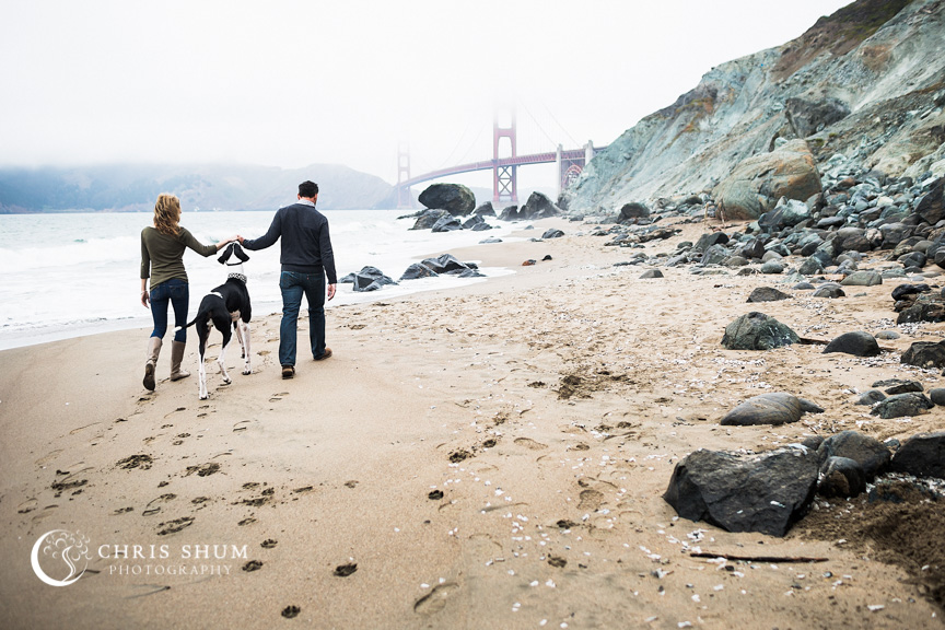 San_Francisco_wedding_photographer_Engagement_session_with_furry_babies_at_Marshall_Beach_02