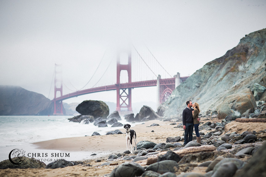 San_Francisco_wedding_photographer_Engagement_session_with_furry_babies_at_Marshall_Beach_04