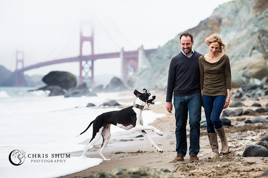 San_Francisco_wedding_photographer_Engagement_session_with_furry_babies_at_Marshall_Beach_05