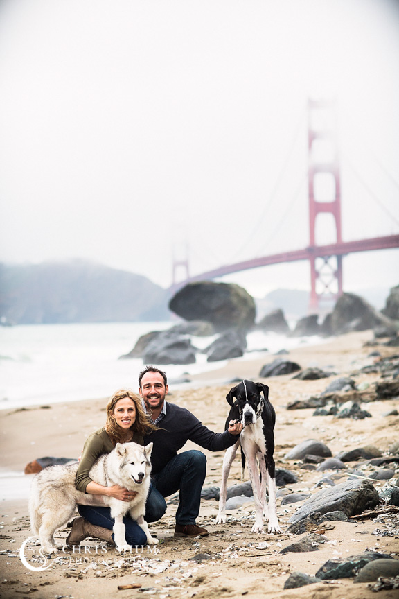 San_Francisco_wedding_photographer_Engagement_session_with_furry_babies_at_Marshall_Beach_10