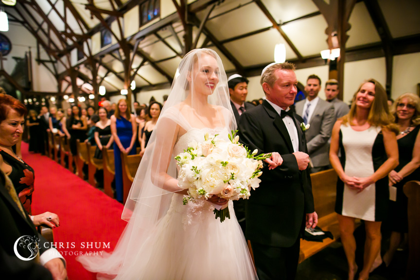 Destination-wedding-St-Pete-Florida-gorgeous-bride-walking-down-the-aisle