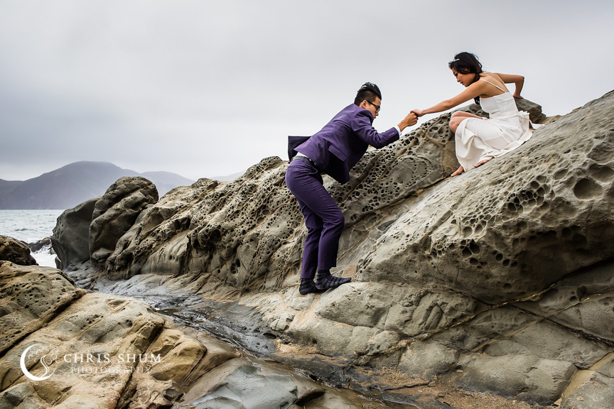 San_Francisco_wedding_photographer_Prewedding_Baker_Beach_Embarcadero_Center_13