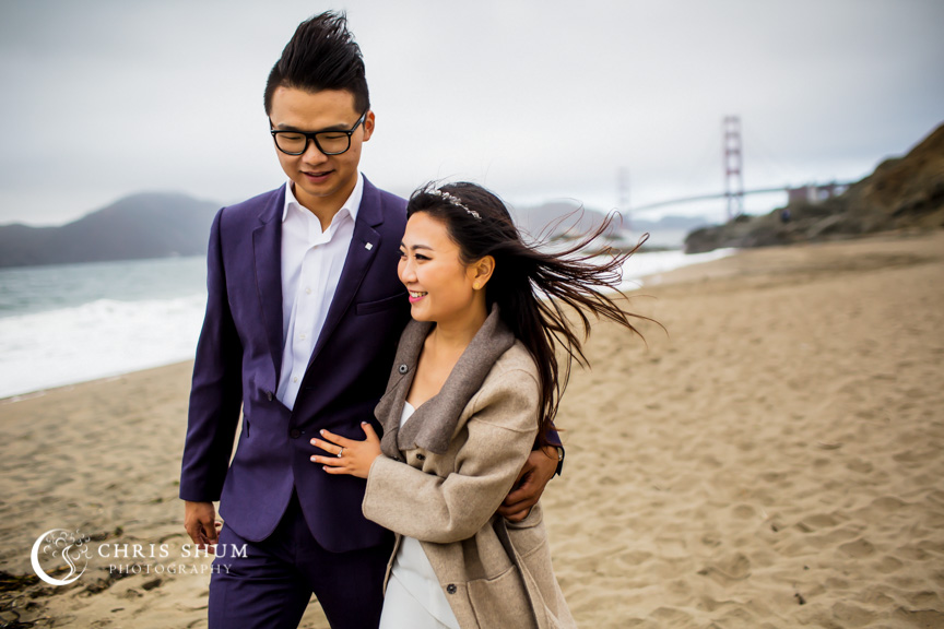 San_Francisco_wedding_photographer_Prewedding_Baker_Beach_Embarcadero_Center_14