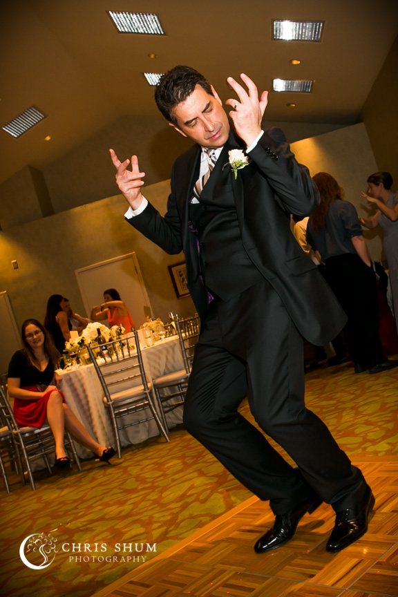"""San-Jose-Campbell-wedding-groom-dancing-with-feel"""